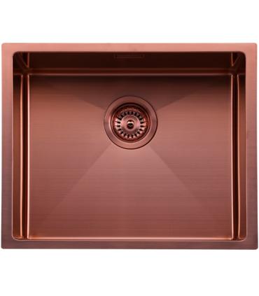 Fregadero acero inoxidable para cocina Venus Fregaderos Color: acero, antracita, rosé mate Numero