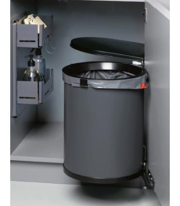 Cubo auxiliar Cool Gestión de residuos Capacidad Litros: 32 litros, 26 litros   Tienda Online Casa