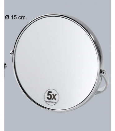 Espejo con soporte cromo Espejos de aumento aumento: x5 aum, x7 aum, x10 aum   Tienda Online Casa y