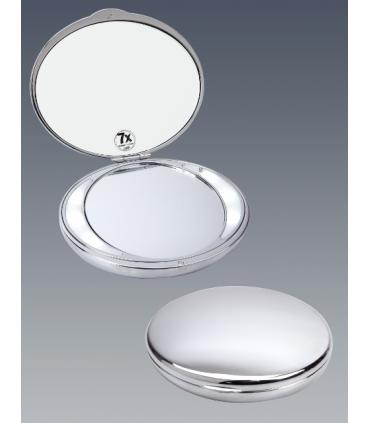 Espejo de bolso ovalado con luz led Espejos de aumento aumento: x5 aum, x7 aum, x10 aum   Tienda