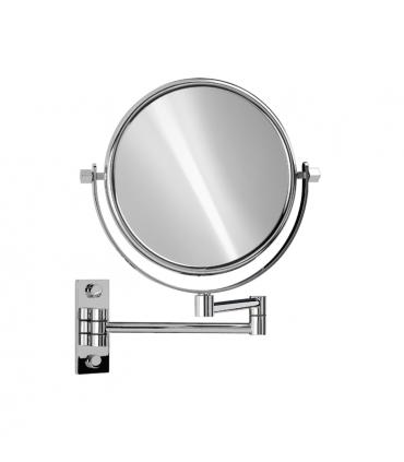 Espejo de pared windisch Espejos de aumento Color: cromo, oro; aumento: x2 aum, x3 aum, x5 aum, x5