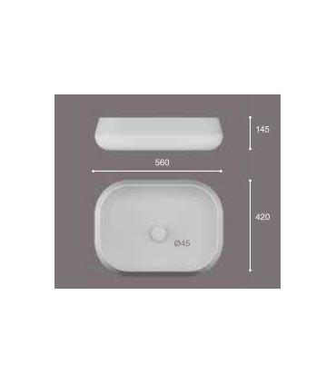 Lavabo de sobre-encimera Esca Lavabos  Instalación: sobre encimera  Tienda Online Casa y Menaje