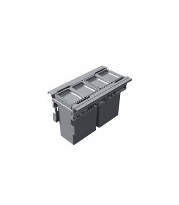 Cubo alta capacidad Concept 560 H298 Gestión de residuos Medidas Cubo: 300 mm, 400 mm, 450 mm, 600