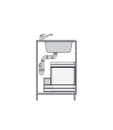 Cubo ecológico Oeko Gestión de residuos Medidas Cubo: 450 mm, 600 mm   Tienda Online Casa y Menaje