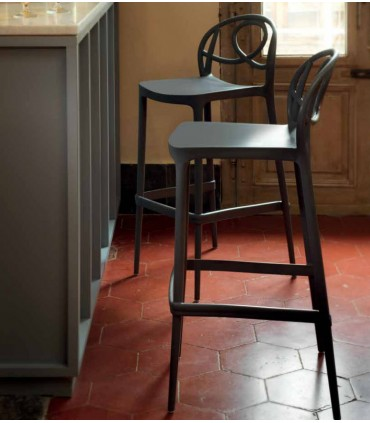 Taburete de cocina Etoile Bar Mesas, sillas y taburetes  Material Principal: polipropileno  Tienda