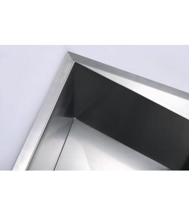 Fregadero acero 2 cubetas 820 x 450 mm Diamante Fregaderos    Tienda Online Casa y Menaje, Todo
