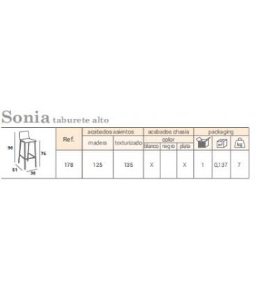 Pack 2 taburetes Sonia Mesas, sillas y taburetes    Tienda Online Casa y Menaje, Todo para tu hogar